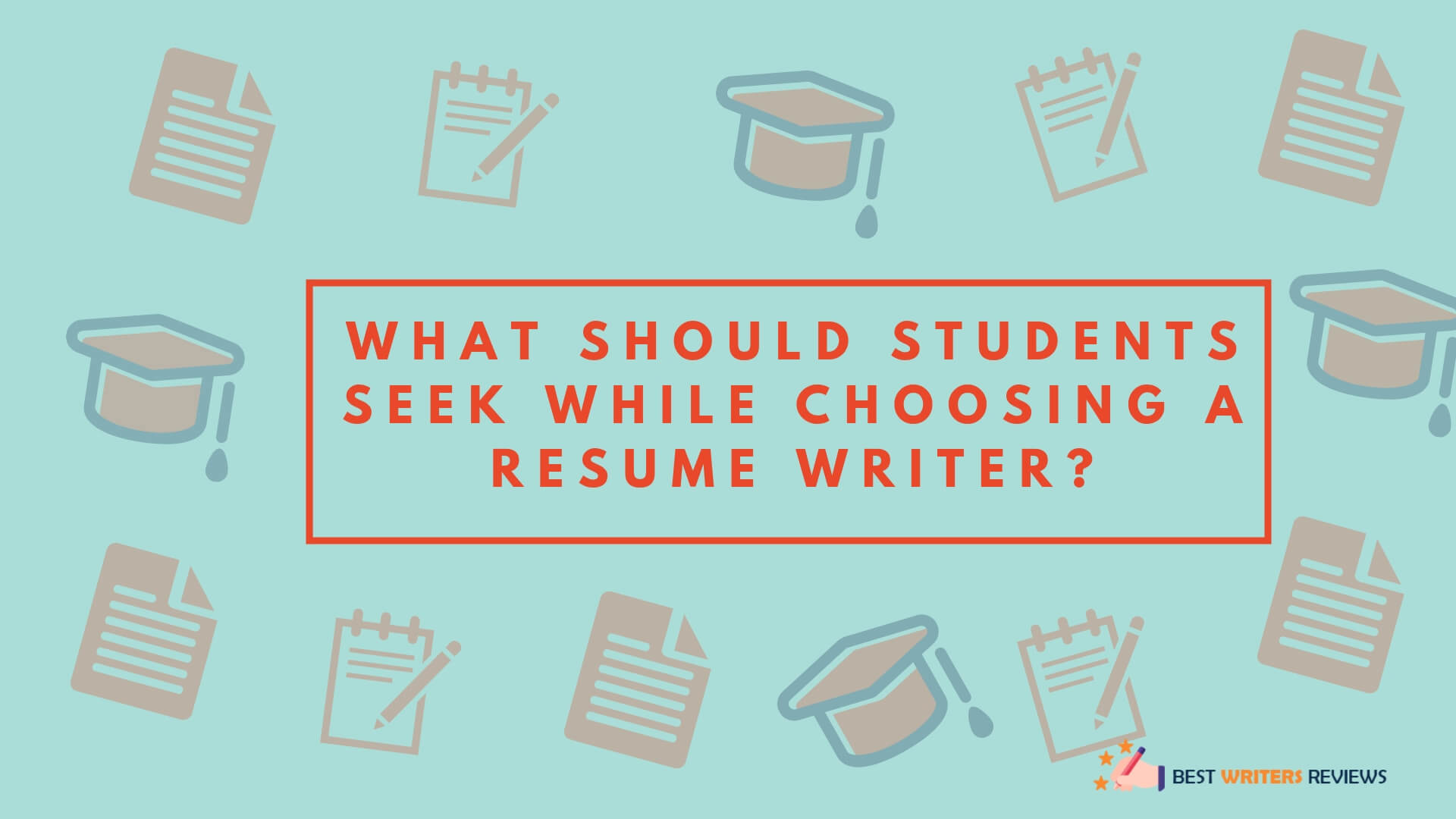 What Should Students Seek While Choosing A Resume Writer
